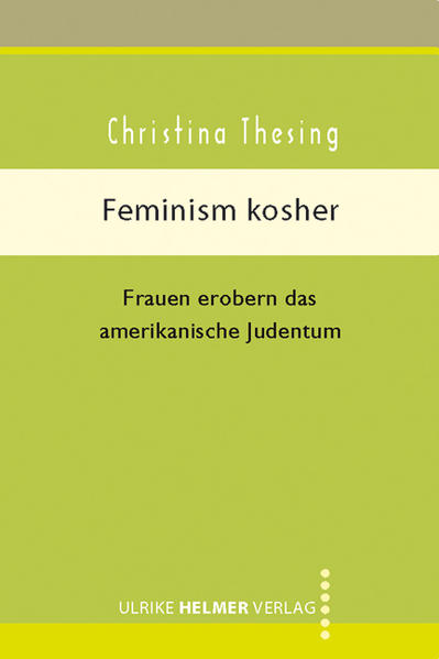 Feminism kosher - Coverbild