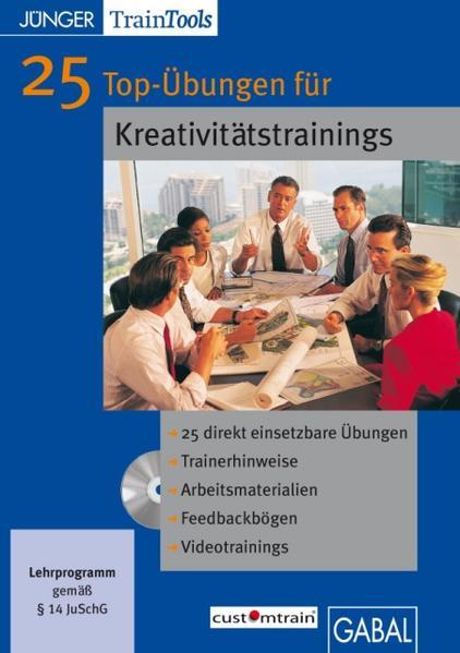 25 Top-Übungen für Kreativitätstrainings - Coverbild