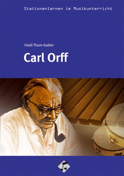 Stationenlernen: Carl Orff Heft inkl. CD - Coverbild