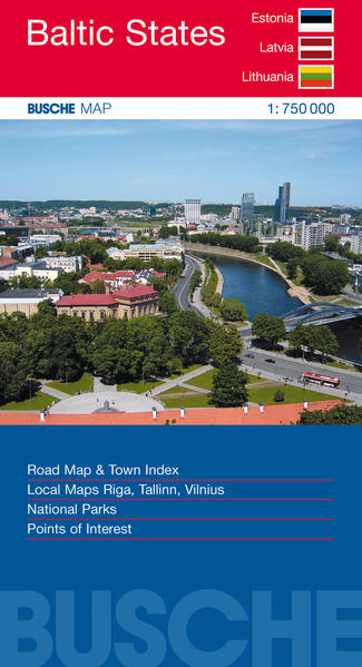 Baltic States Estonia, Latvia, Lithuania - Coverbild