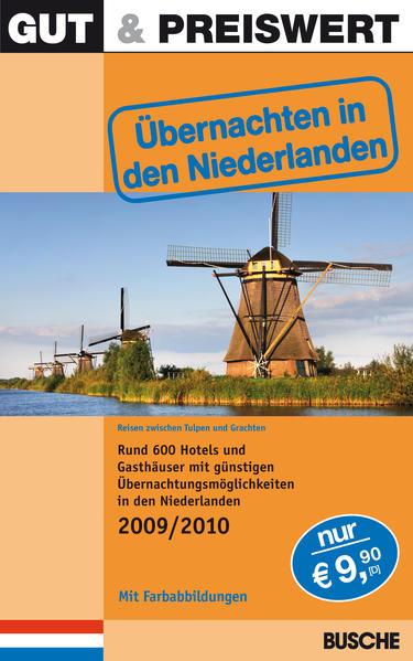Gut & Preiswert - Übernachten in den Niederlanden 2009/2010 - Coverbild