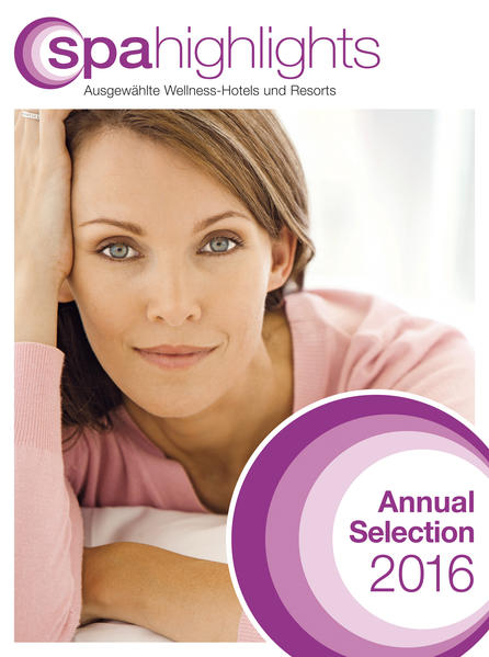 spa highlights Annual Selection 2016 - Coverbild