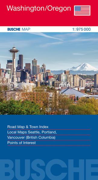 USA Washington/Oregon - Coverbild