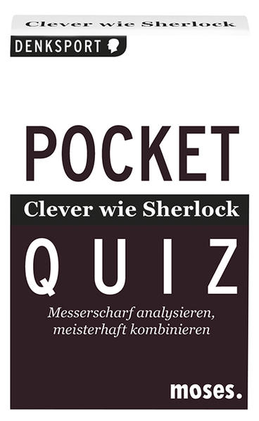 Kostenloser Download Pocket Quiz Clever wie Sherlock PDF