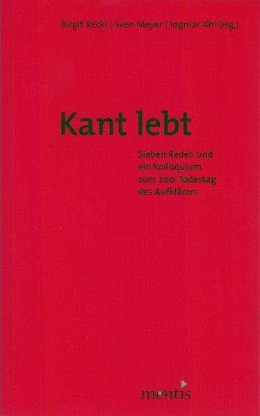 Kant lebt! - Coverbild