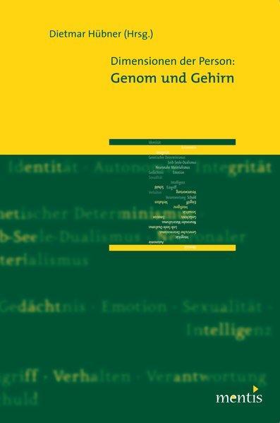 Dimensionen der Person: Genom und Gehirn - Coverbild