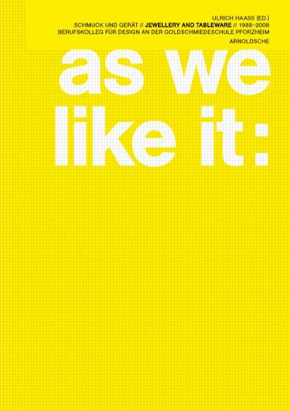 As we like it - Coverbild