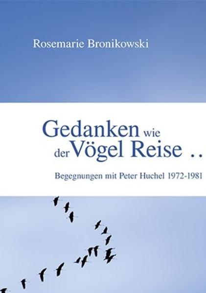 Gedanken wie der Vögel Reise ... - Coverbild