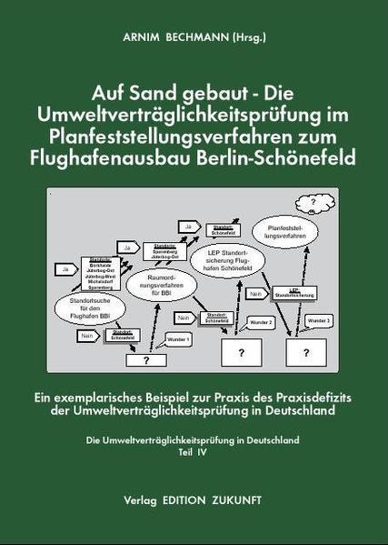 Auf Sand gebaut - Die Umweltverträglichkeitsprüfung im Planfeststellungsverfahren zum Flughafenausbau Berlin-Schönefeld - Coverbild