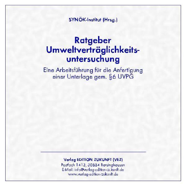 Ratgeber Umweltverträglichkeitsuntersuchung PDF