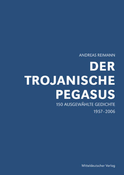 Der trojanische Pegasus - Coverbild