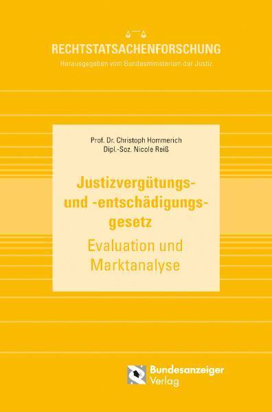 Justizvergütungs- und -entschädigungsgesetz - Coverbild