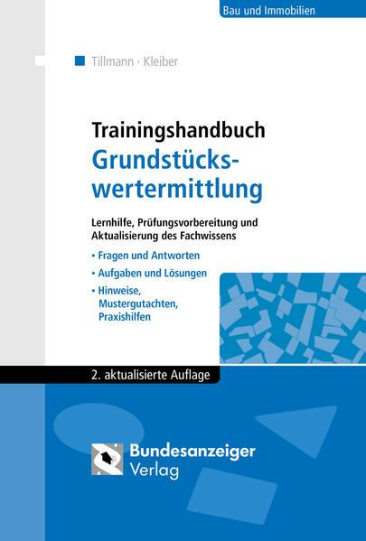 Trainingshandbuch Grundstückswertermittlung PDF Herunterladen