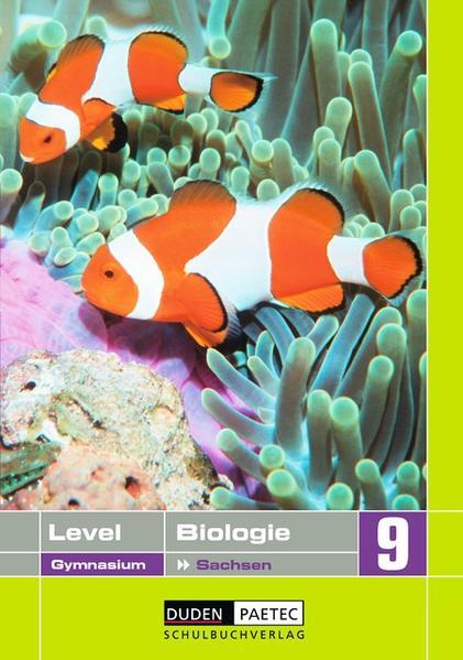 Level Biologie - Gymnasium Sachsen / 9. Schuljahr - Schülerbuch - Coverbild