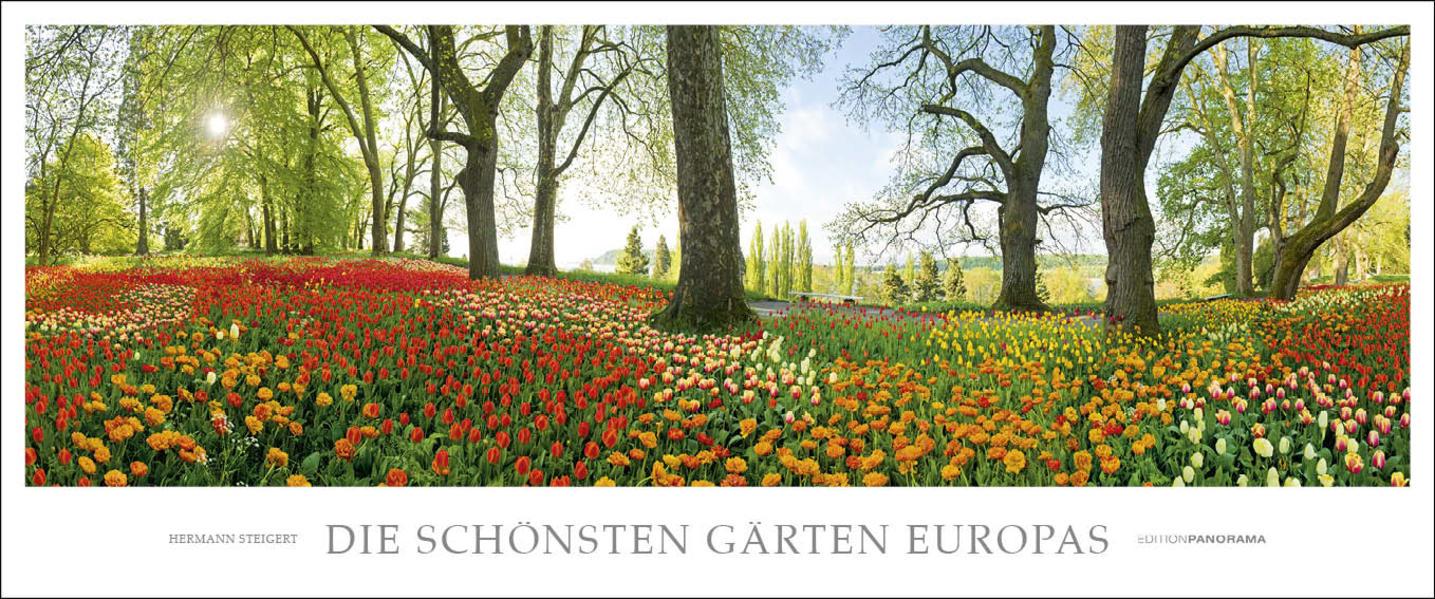 Die schönsten Gärten Europas - Coverbild