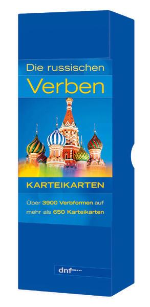 Karteikarten - Die russischen Verben - Coverbild
