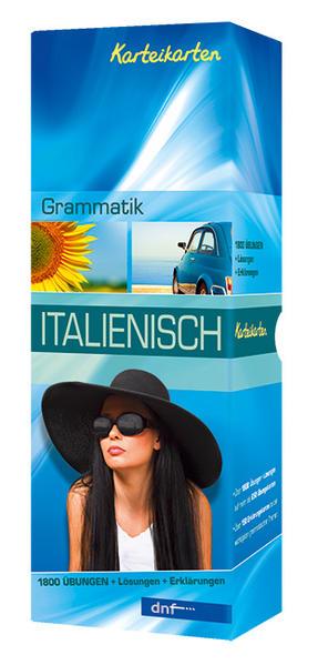Karteikarten Grammatik Italienisch - Coverbild