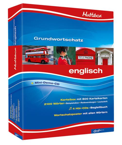 Multibox XXL Grundwortschatz Englisch - Coverbild