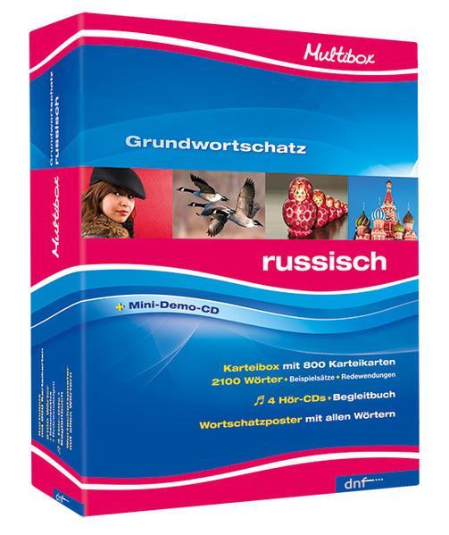 Multibox XXL Grundwortschatz Russisch - Coverbild