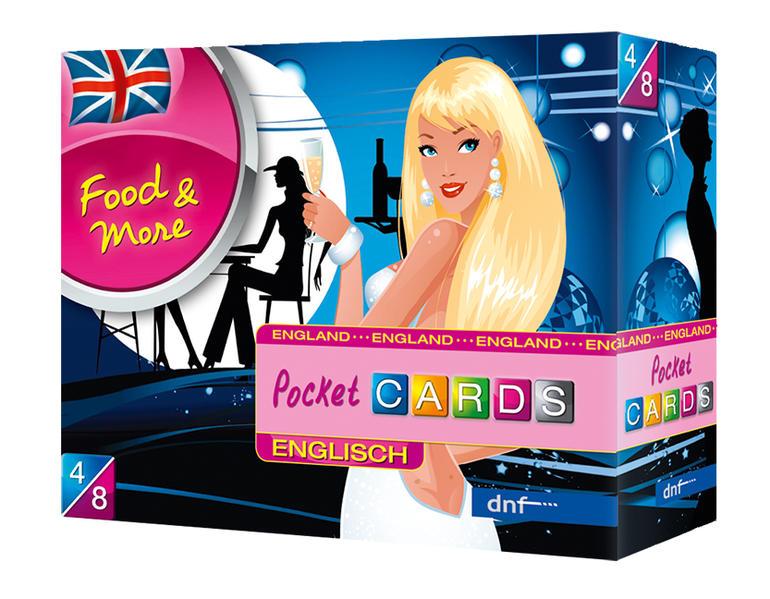 Pocket CARDS Food & More Englisch - Coverbild