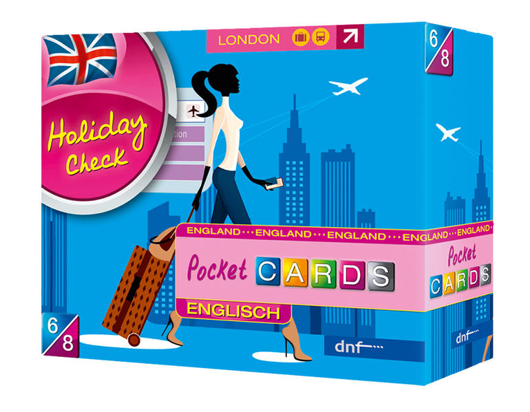 Pocket CARDS Holiday Check Englisch - Coverbild