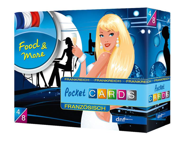 Pocket CARDS Food & More Französisch - Coverbild