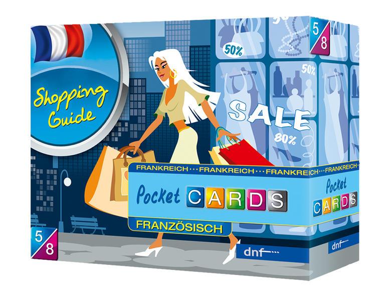 Pocket CARDS Shopping Guide Französisch - Coverbild