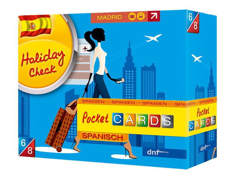 Pocket CARDS Holiday Check Spanisch - Coverbild