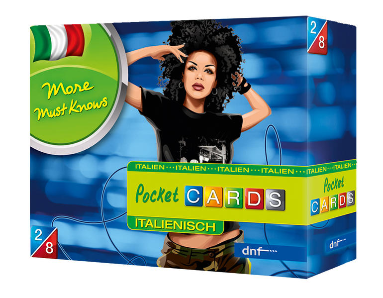 Pocket CARDS More Must Knows Italienisch - Coverbild
