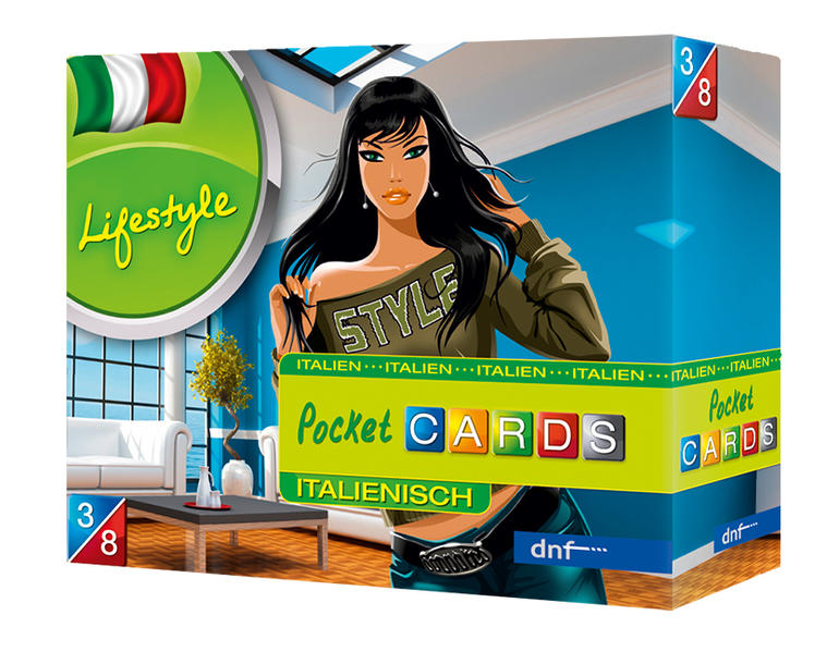 Pocket CARDS Lifestyle Italienisch - Coverbild