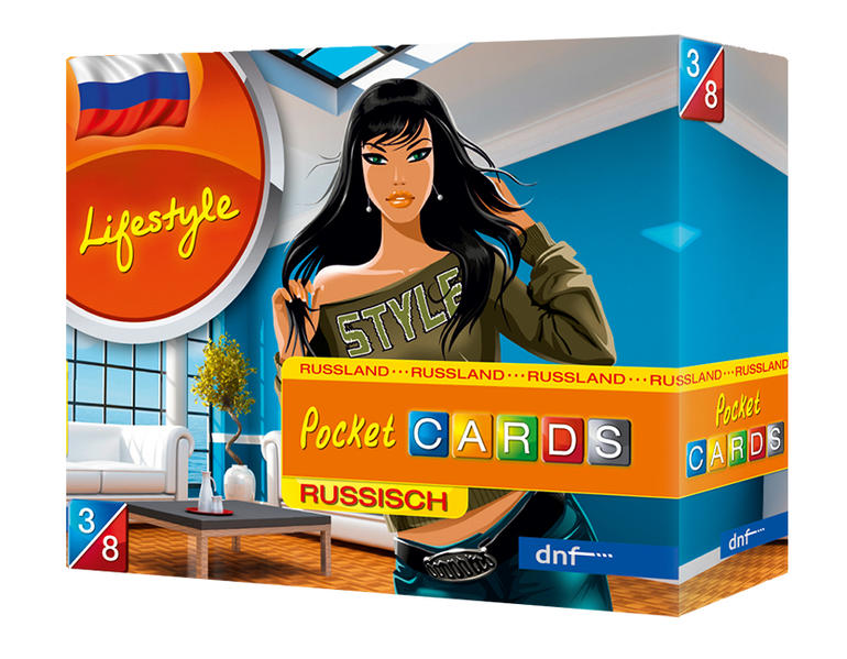 Pocket CARDS Lifestyle Russisch - Coverbild