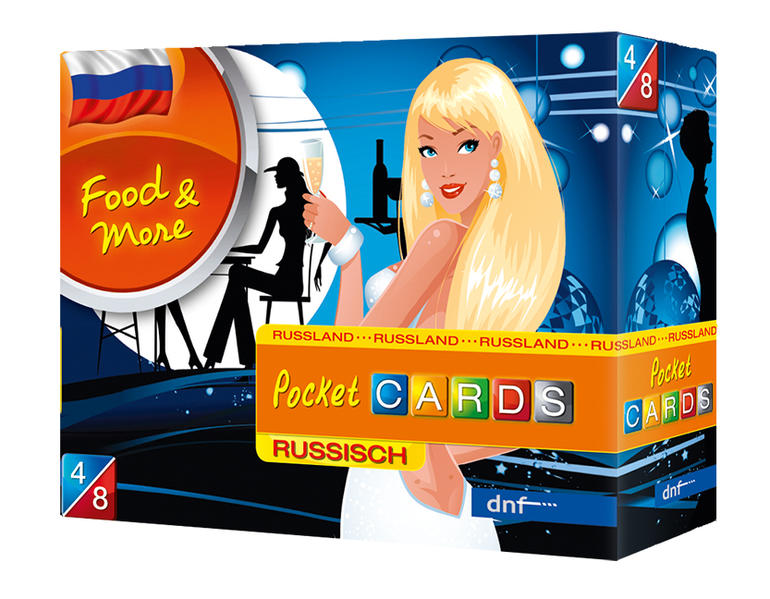 Pocket CARDS Food & More Russisch - Coverbild