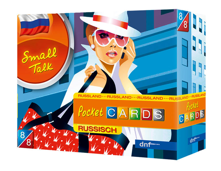 Pocket CARDS Small Talk Russisch - Coverbild