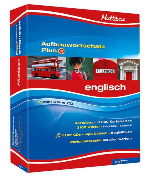 Multibox Aufbauwortschatz Plus, Englisch - Coverbild