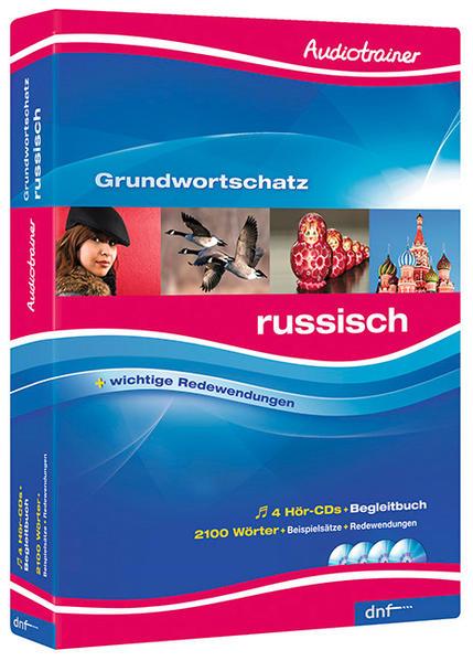 Audiotrainer Grudnwortschatz, Russisch - Coverbild