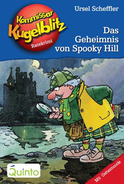 Kommissar Kugelblitz 23. Das Geheimnis von Spooky Hill - Coverbild