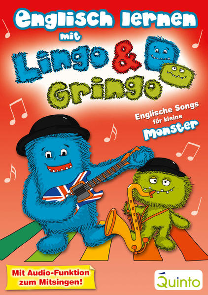 Englisch lernen mit Lingo und Gringo - Coverbild
