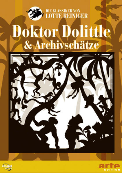 Lotte Reinigers Dr. Dolittle & Archivschätze - Coverbild