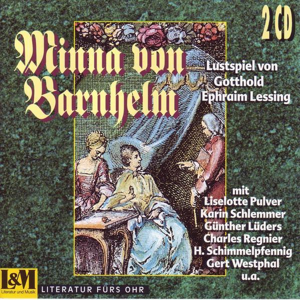 Minna von Barnhelm oder Das Soldatenglück - Coverbild