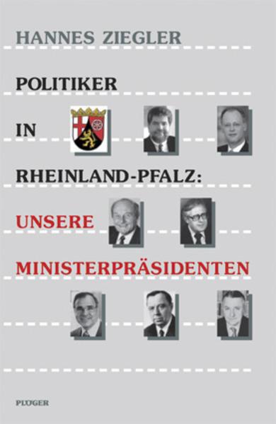 Politiker in Rheinland-Pfalz: Unsere Ministerpräsidenten - Coverbild