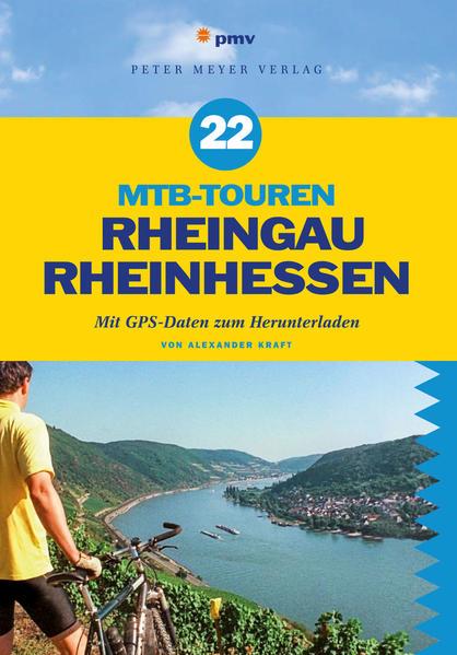 22 MTB-Touren Rheingau Rheinhessen - Coverbild