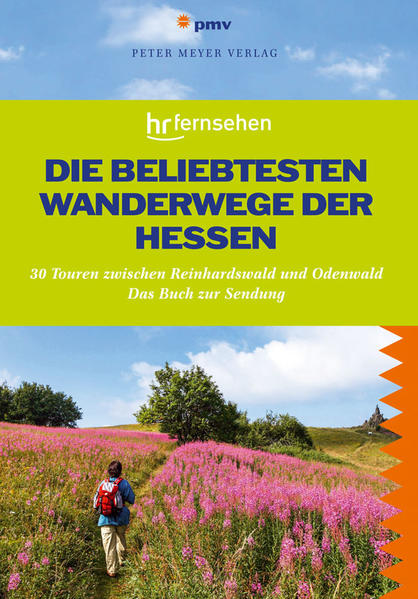 Die beliebtesten Wanderwege der Hessen - Coverbild