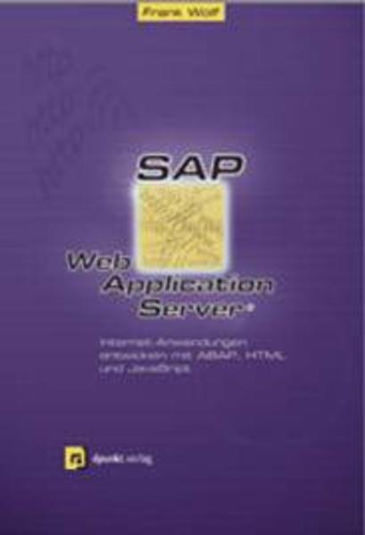 SAP Web Application Server - Coverbild