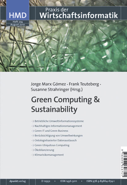 Green Computing & Sustainability - Coverbild