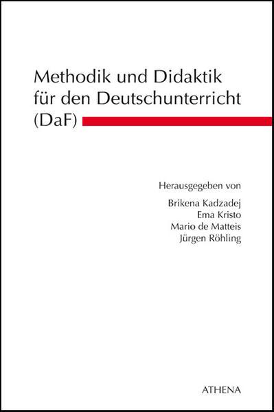 Methodik und Didaktik für den Deutschunterricht (DaF) - Coverbild