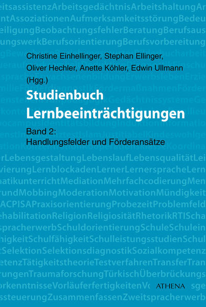 Studienbuch Lernbeeinträchtigungen - Coverbild