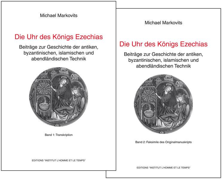 Die Uhr des Königs Ezechias - Coverbild
