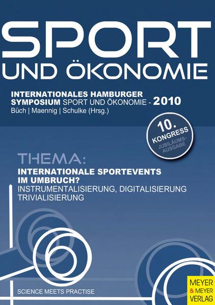 Internationale Sportevents im Umbruch? - Coverbild