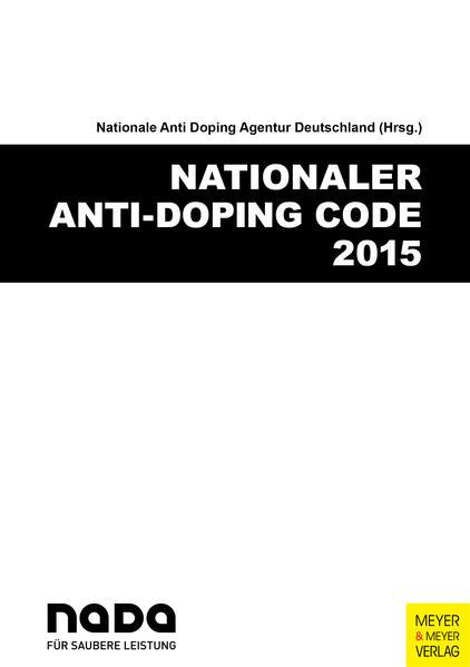 Nationaler Anti-Doping Code 2015 - Coverbild