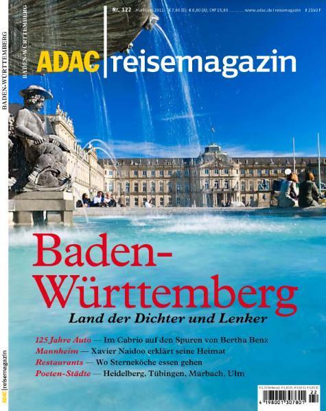 ADAC reisemagazin Baden-Württemberg - Coverbild